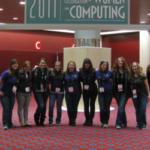Women Computing conference photo 2011