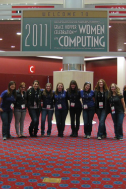 Women Computing conference photo 2011
